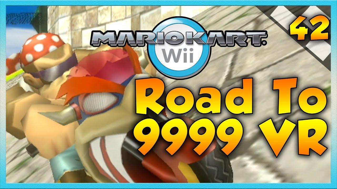 Mario Kart Wii Custom Tracks - 8900?! - Road To 9999 VR | Ep  42 | TWD98