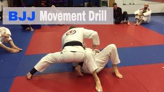Movement Drill for BJJ | Wake Forest Brazilian Jiu Jitsu | 919-819-1908