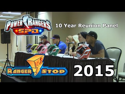 Power Rangers: SPD 10 Year Reunion Panel - RangerStop 2015