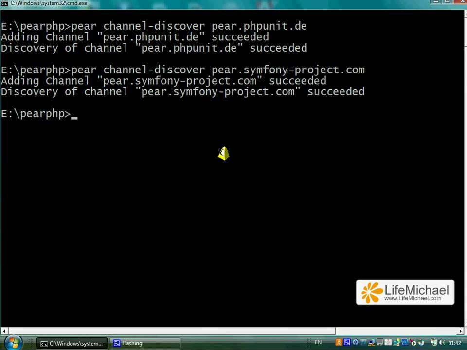 phpunit install windows 7