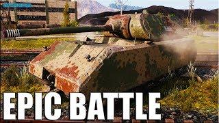 КРАСИВЫЙ БОЙ 🌟 Maus World of Tanks