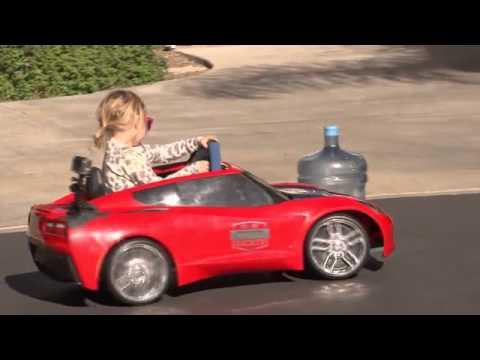 Kid Electric Car >> Lila Kalis - YouTube