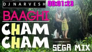 Baaghi-Cham Cham-(Sega Mix)-DjNarvesh