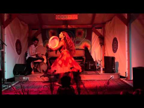 Mystical Persian Dance with the Frame Drum (Daf)