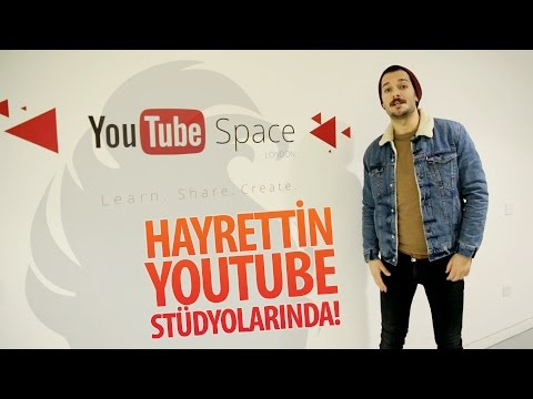 Hayrettin Londra Youtube Stüdyoları'nda! | Youtube Space London