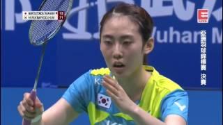 M. Matsutomo/A. Takahashi vs Yoo Hae Won/Kim Hye Rin - 2017 Badminton Asia Championships WD F [HD]