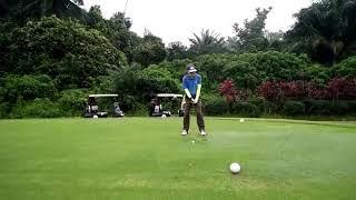 Golf 1 Tee off