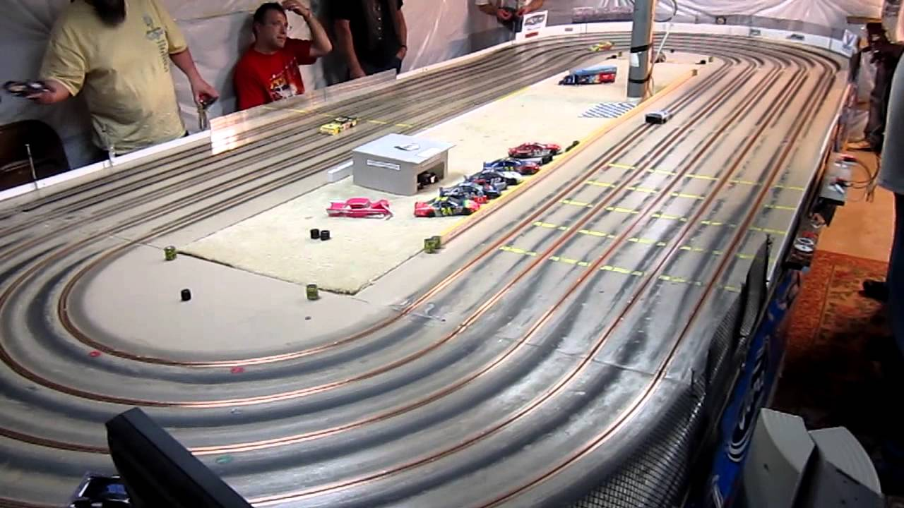 Dirt Late Model Slot Cars Youtube