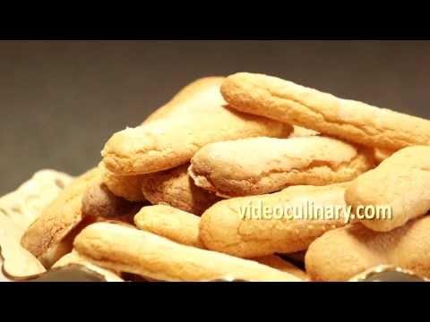 Ladyfingers (Savoiardi) - Sponge Cookies Recipe by Video Culinary