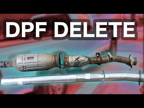 dpf delete pipe 08 09 10 ford f250 powerstroke 6 4 diesel superduty offorad race