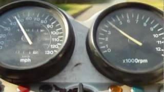GS500 SUZUKI GS500e 0 60 MPH 0 100 KPH Inc 2nd GEAR LAUNCH
