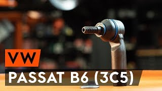 front and rear Brake shoe kits installation VW PASSAT: video manual