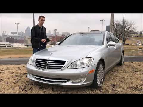 Я купил сломанный Mercedes S600 V12 за 4500 долларов Спустя год Hoovies Garage на русском