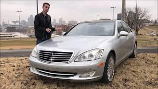 Я купил сломанный Mercedes S600 V12 за 4500 долларов… Спустя год! (Hoovies Garage на русском)