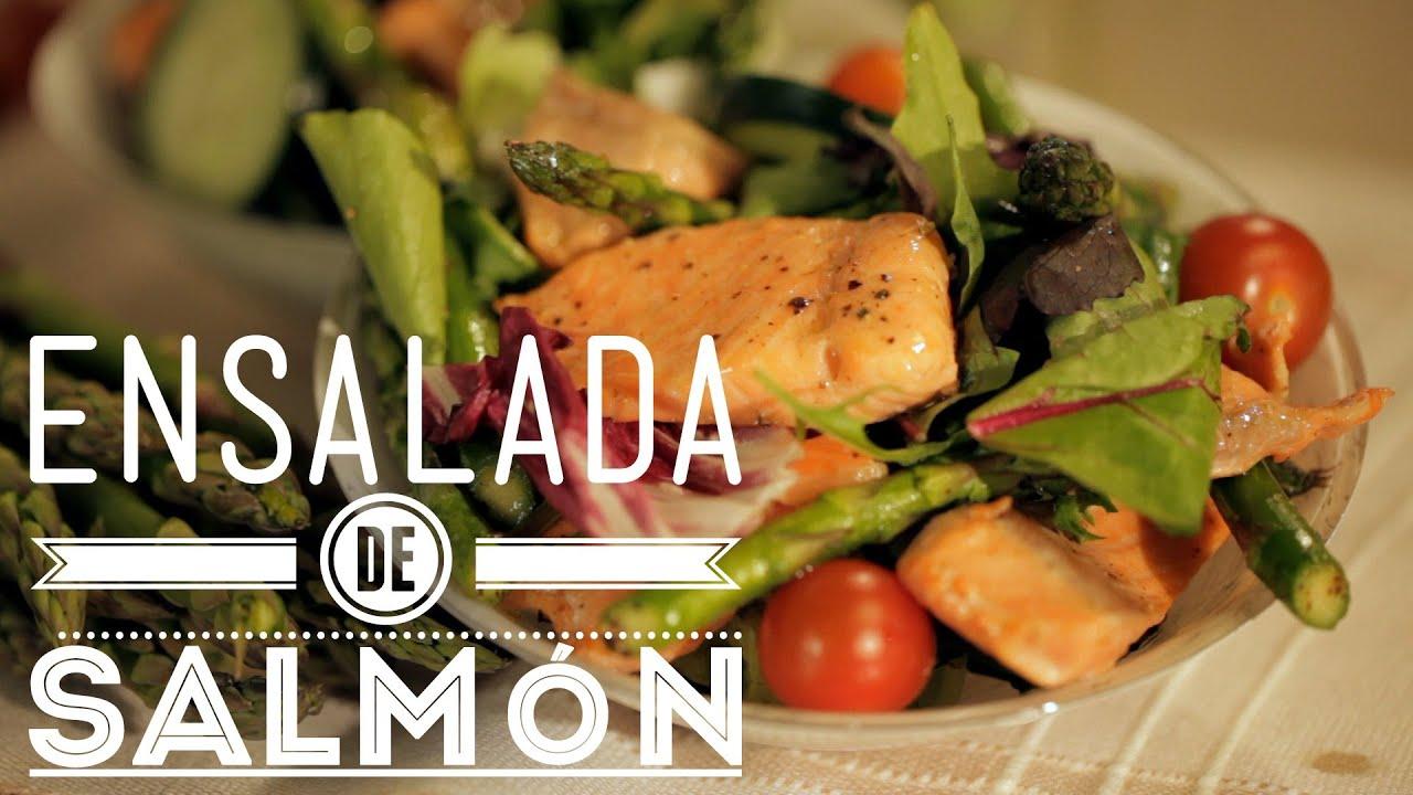 C mo preparar ensalada de salm n cocina fresca youtube for Como cocinar salmon