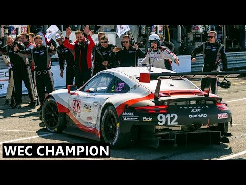 Porsche GT Team Wins World Endurance Championship 2019