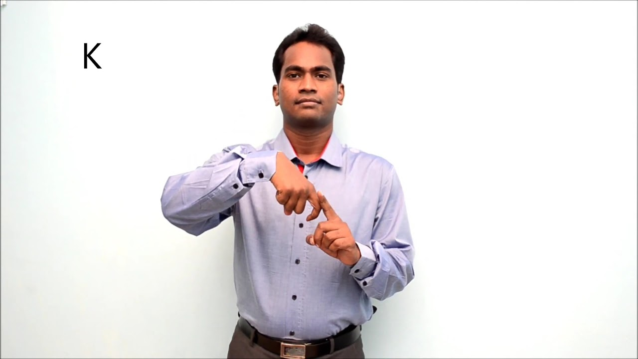 Indian Sign Language Alphabets