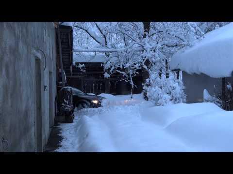audi a4 allroad chasse neige QUATTRO