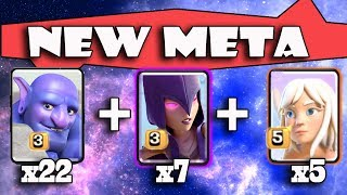 5 Healer +7 Witch + 22 Bowler | New Meta Ground Army 3 Star Th11 Max Level | New Th11 War Style 2018