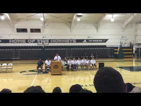 CA Boys State 2016: Federalist Party Caucus Governor Speeches