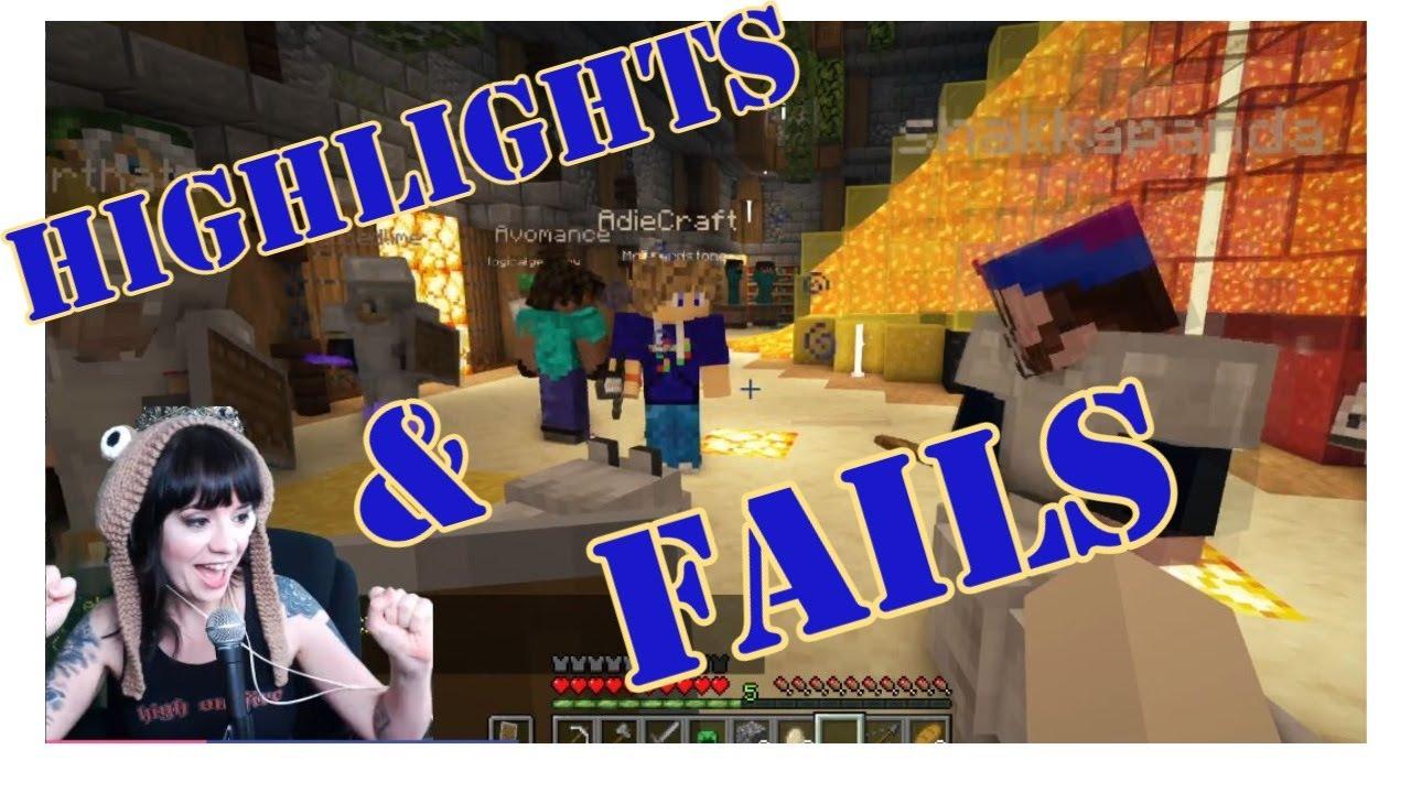 Minecraft Twitch Highlights & Fails Vol 1   2021