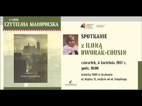 Czytelnia Małoposka spotkanie z : Iloną Dworak-Cousin