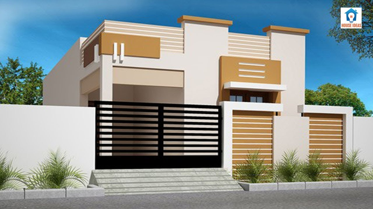 Latest Small Home Front Elevation Designs 2019 House