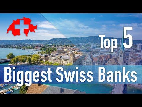 Top 5 Swiss Banks - Largest Banks in Switzerland
