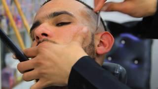 الحلاق المغربي الذي يتحدى أي حلاق في العالم Production Play Films Page Hamza Jalissi