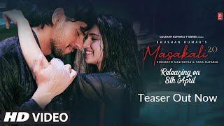 Teaser: Masakali 2.0 | A R Rahman | Sidharth Malhotra,Tara Sutaria | Tulsi Kumar, Sachet Tandon