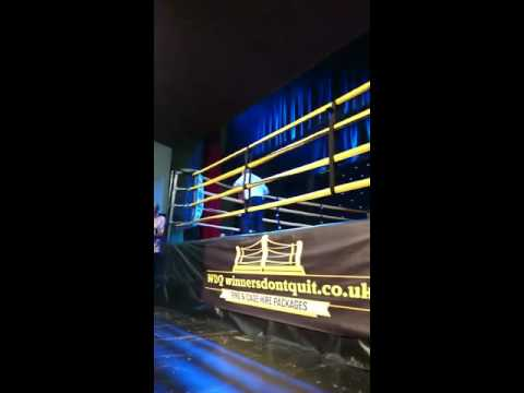 Semi pro boxer gets knocked out by debut fighter paul Craig
