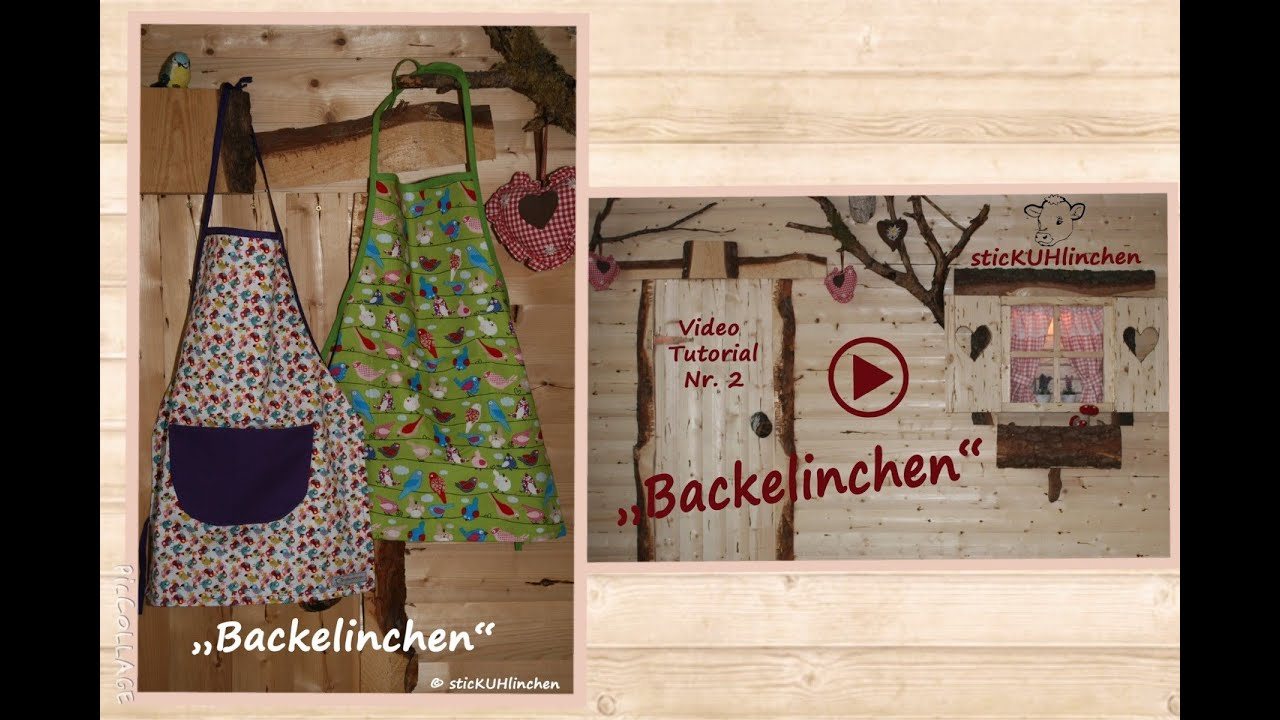 backelinchen von stickuhlinchen eine kindersch rze n hen. Black Bedroom Furniture Sets. Home Design Ideas