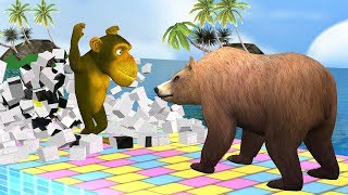 Learn Animals With Funny Monkey Style PC Game - Educational Vi…