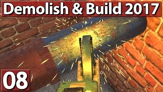 STROMLEITUNGEN ABREISSEN ► Demolish and Build Simulator #8