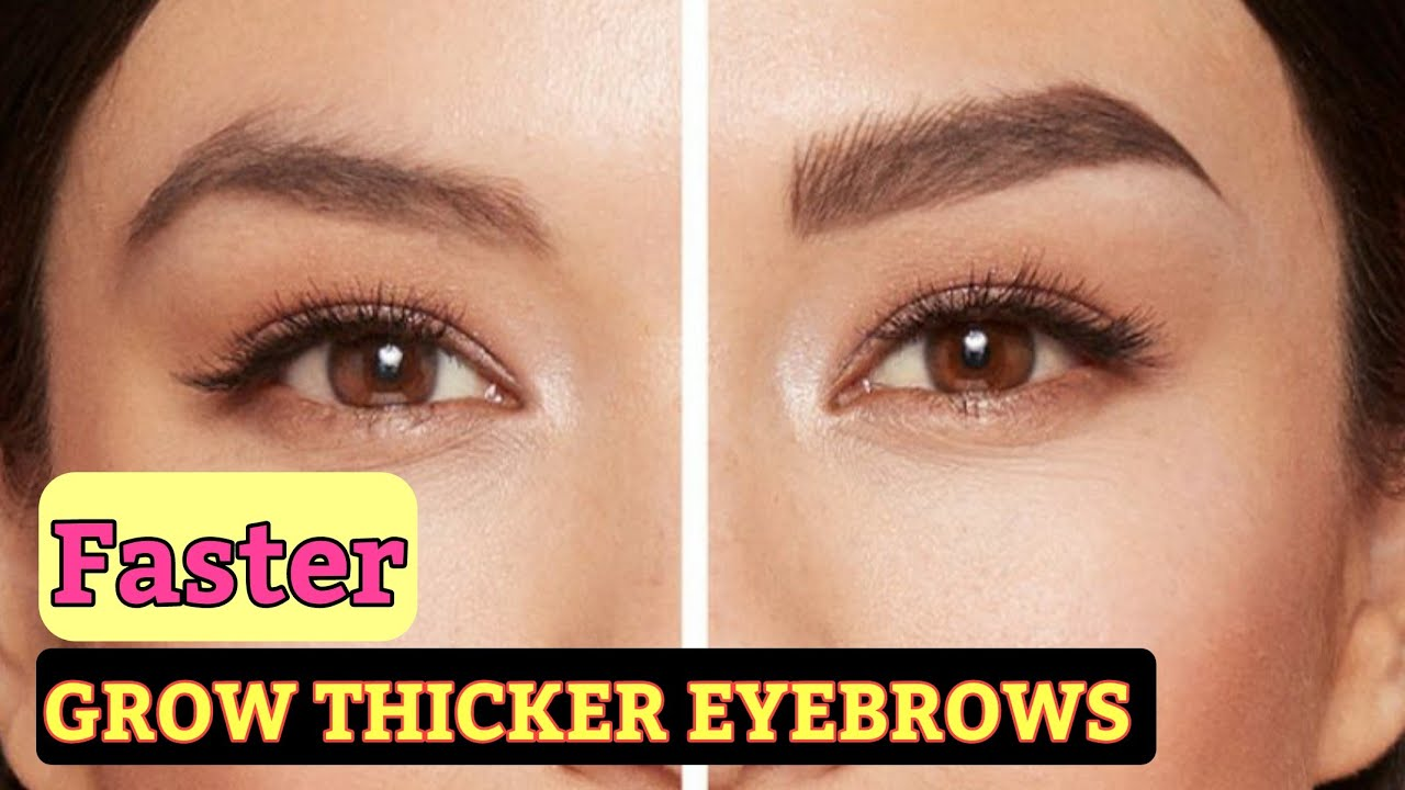 How I Get My Eyebrows To Grow Thicker Naturally In Few ...