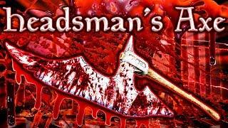 Skyrim SE - Headsman's Axe - Unique Weapon Guide