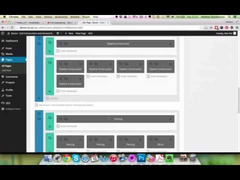 How to create and edit pages with pagebuilder