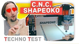 TechnoTest [T2] Machine CNC XXL Shapeoko 3 !!!