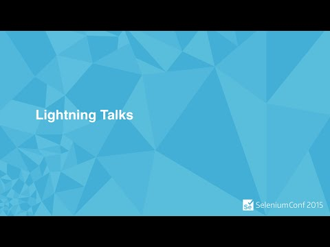 SEP 9TH Lightning Talks