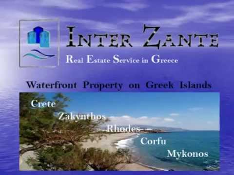 Seaside Real Estate in Greece - Land on the Sea For Sale in Crete