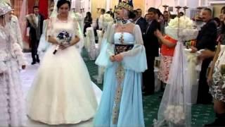 Выход невесты в казахском стиле из фильма Кыз жыбек