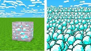 Minecraft, Aber mit Unendlich Drops!