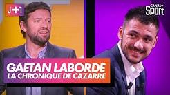 Julien Cazarre avec Gaëtan Laborde