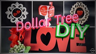 DIY Dollar Tree | 5 Easy Valentine's Day Projects | 2019 | ❤️
