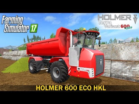 Farming Simulator 17 HOLMER 600 ECO HKL