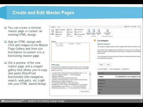 Sharepoint Branding With Design Manager YouTube - Sharepoint design manager