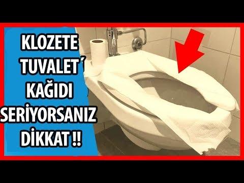 Bu yu İzledikten Sonra Klozete Tuvalet Kağıdı Asla Sermeyeceksiniz!