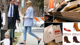Downcast Ivanka heads out for the weekend after Nordstrom marks all remaining merchandise.