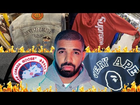 Trip To The Thrift #69 $1000 Canada Goose!!/SUPREME Jackets!!/BAPE!!!