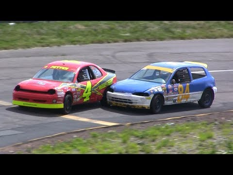 Thunder Valley Speedway - Hobby Stock Qualifying & Race #3